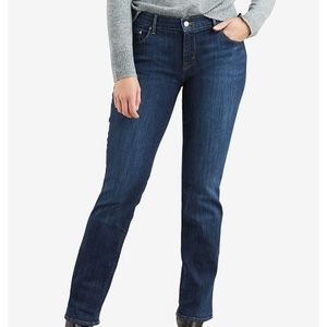 Levi's 505 Straight Mid Rise 8 Long Brand New Tags